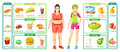 Colorful Weight Loss Infographics