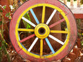 Colorful Wheel Royalty Free Stock Photo