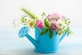 Colorful Wildflowers In Wateri...