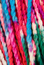 Colorful yarn Stock Photo