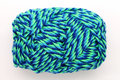 Colorful yarn used for knitting clothes Stock Images