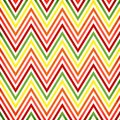 Colorful zigzag seamless pattern chevron pattern Royalty Free Stock Image