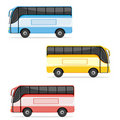 Colorfull Bus Royalty Free Stock Photos