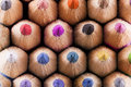 Colorfull colored pencils Royalty Free Stock Photo