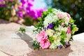 Colorfull flower bouquet.