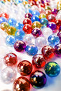 Colorfull marble ball art wallpaper Royalty Free Stock Photo