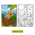 Coloring book for children, Numbat