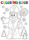 Coloring book Saint Nicholas topic 1