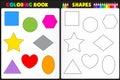 Sfarbenie kniha tvary