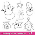 Coloring book sketches, part 2