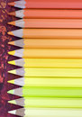 Coloring pencils Stock Photography