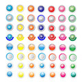 Colorlful Button Vector
