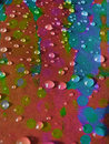 Colors & Drops Royalty Free Stock Photo