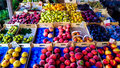 Colors and fruit flavors Royalty Free Stock Photo