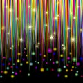 Colors and Glitter Stripes Abstract Pattern Stock Images