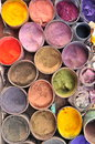Colors for handmade dyeing Stock Photo
