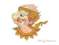 Colors monkey Hanuman art pattern