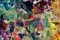 Colors palette Stock Photo