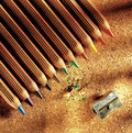 Colors pencil Royalty Free Stock Photo
