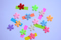 Colors spring summer happy background Stock Photos