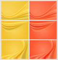 Colors web banner set Stock Photo