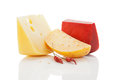 Colorul bright cheese background. Royalty Free Stock Photos