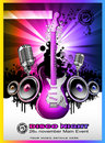 Colorul Music Event Background Royalty Free Stock Photo