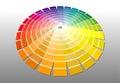 Colorwheel Royalty Free Stock Photo