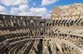 Coliseum inside Royalty Free Stock Photo