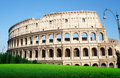 The Colosseo in Roma - Italia Royalty Free Stock Photo