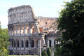 Colosseum amphitheater in Rome, Italy Stock Photos