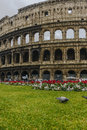 Colosseum in a cloudy day Royalty Free Stock Photo