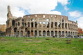 The colosseum or coliseum also known as the flavian amphitheatr amphitheatre rome italy Stock Photos
