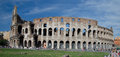 The Colosseum or Coliseum, also known as the Flavian Amphitheatre - Rome Royalty Free Stock Photo