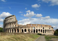 The Colosseum, Coliseum in Rome Royalty Free Stock Photo