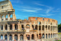 Colosseum (Coliseum) in Rome Royalty Free Stock Photo