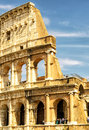 The Colosseum (Coliseum) in Rome, Italy Royalty Free Stock Photo