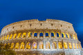The colosseum or the coliseum in rome italy originally amphitheatrum flavium an elliptical amphitheatre Stock Photo