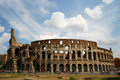 Colosseum by day rome italy Royalty Free Stock Photo