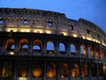 Colosseum at Dusk Royalty Free Stock Photos