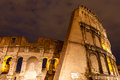 The colosseum at night rome italy photo taken in Royalty Free Stock Photography
