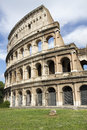 The colosseum originally the amphitheatrum flavium is an elliptical amphitheatre in the centre of the city of rome italy the Stock Photos