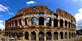 Colosseum a photo of romes Royalty Free Stock Photo