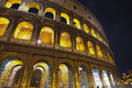 Colosseum - The roman emperor Royalty Free Stock Images