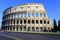 The Colosseum in Rome, Italy Royalty Free Stock Photography