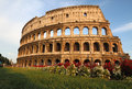 The colosseum in rome italy Royalty Free Stock Photos