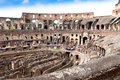 The colosseum in rome italy Stock Photography