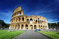Colosseum in rome italy Royalty Free Stock Photos