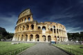 Colosseum in rome italy Stock Photos