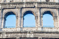 The colosseum in rome italy or coliseum originally amphitheatrum flavium an elliptical amphitheatre Stock Images